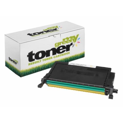 My Green Toner Toner, ersetzt CLT-Y6092S , ELS