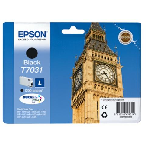 Epson C13T70314010 Tintenpatrone T7031 L mit