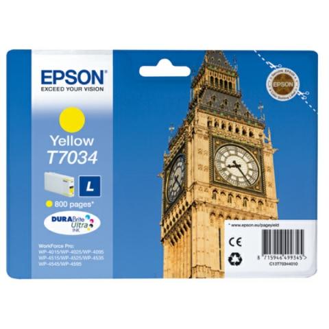 Epson C13T70344010 Tintenpatrone T7034 L mit