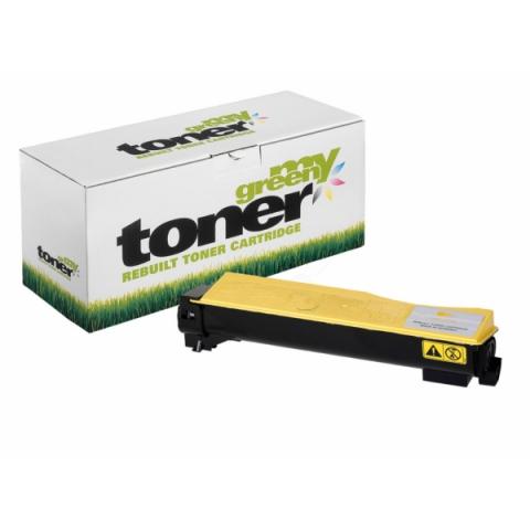 My Green Toner Rebuild Toner ersetzt TK-550Y f�r