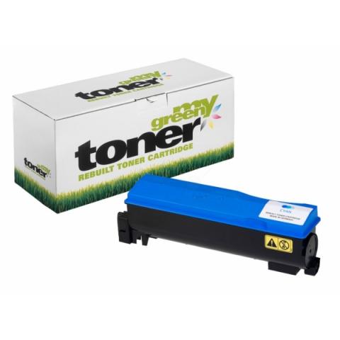 My Green Toner Rebuild Toner ersetzt TK-560C f�r