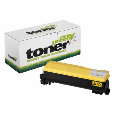 My Green Toner Rebuild Toner, (ersetzt TK-560Y)