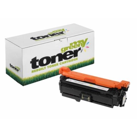 My Green Toner Toner, ersetzt HP CE262A f�r HP