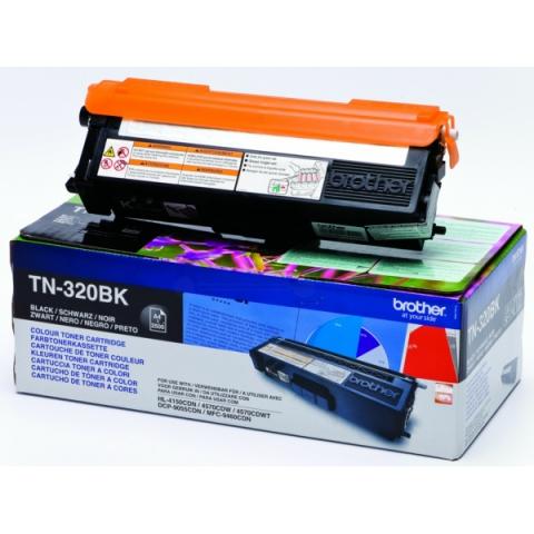 Brother TN-320BK Toner für für ca. 2500 Seiten
