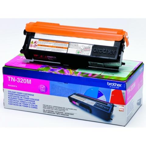 Brother TN-320M Toner für für ca. 1500 Seiten