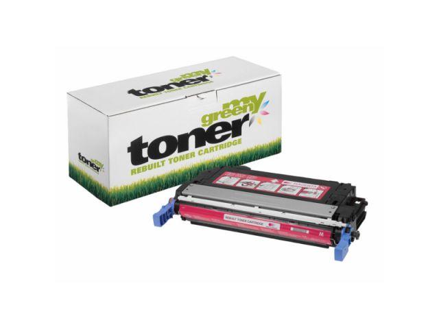 Toner ersetzt original Toner HP CB403A für HP Color LaserJet CP 4005N und CP4005DN, Reichweite