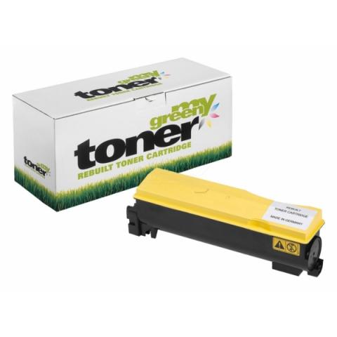 My Green Toner Toner ersetzt original TK-570Y