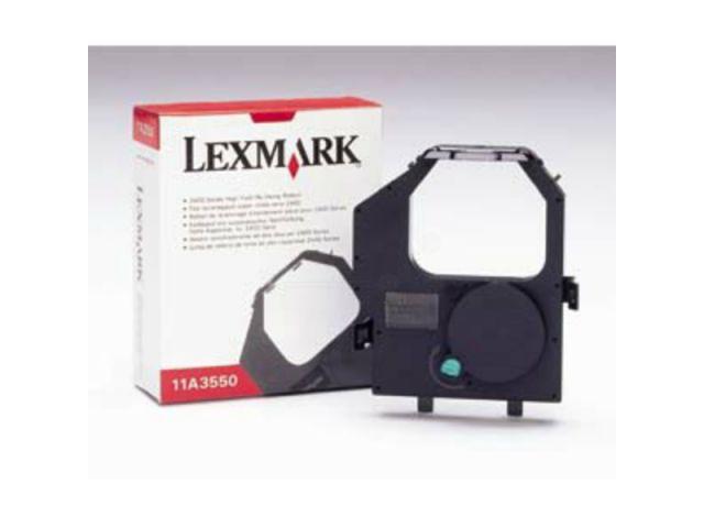 Lexmark Farbband 11A3550 mit Nachtr�nksystem, hohe Kapazit�t f�r 8 Mio. Zeichen, black