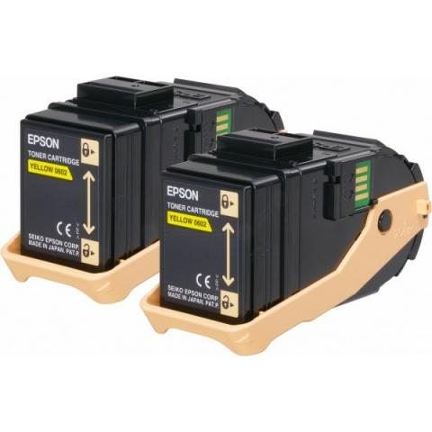 Epson C13S050606 Toner original (Doppelpack)