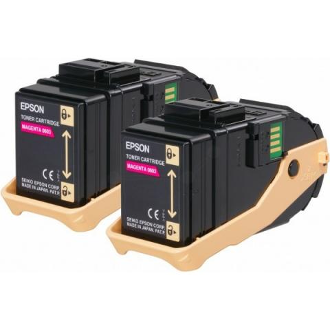 Epson C13S050607 Toner original (Doppelpack)