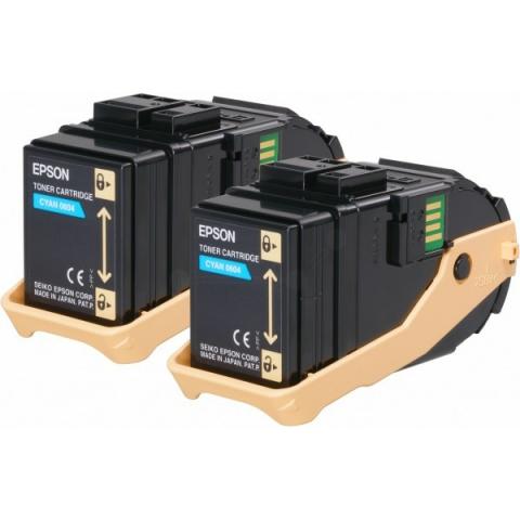 Epson C13S050608 Toner original (Doppelpack)