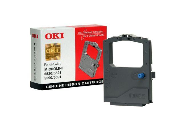 OKI Farbband 1126301 für OKI Microline 5520 / 5521 und Microline 5590 / 5591, schwarz