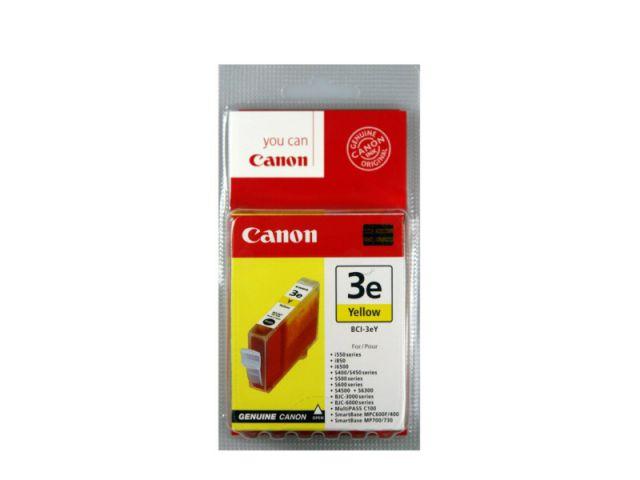 BCI-3eY Tintenpatrone mit 13 ml Inhalt, kompatibel zur BCI-3Y, original Druckerpatrone, gelb