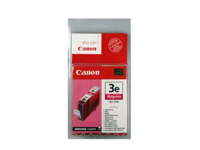 BCI-3eM Tintenpatrone mit 13 ml Inhalt, kompatibel zur BCI-3M, original Druckerpatrone, magenta
