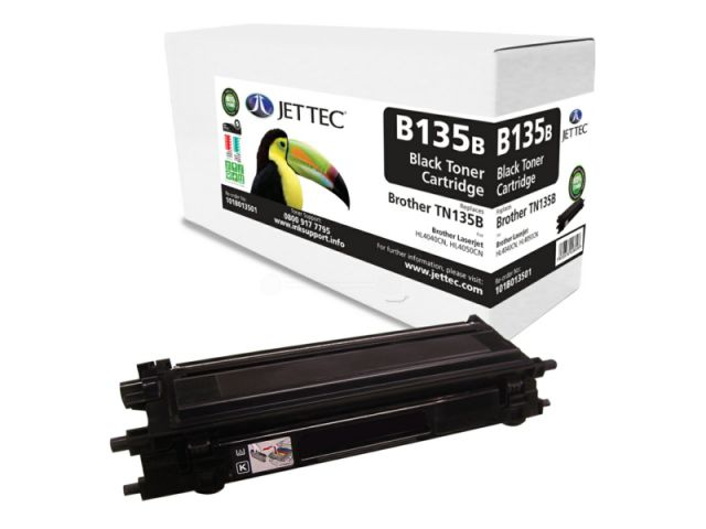 Abverkauf Jettec Toner nur Restbestände!! für HL 4040 CN, 4050 CN passend, ersetzt TN-135B mit