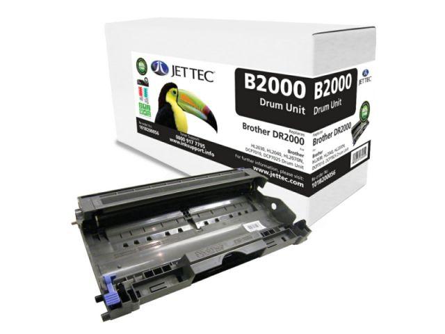 Bildtrommel von Jettec, für ca. 12.000 Seiten, für Brother kompatibel mit DR-2000