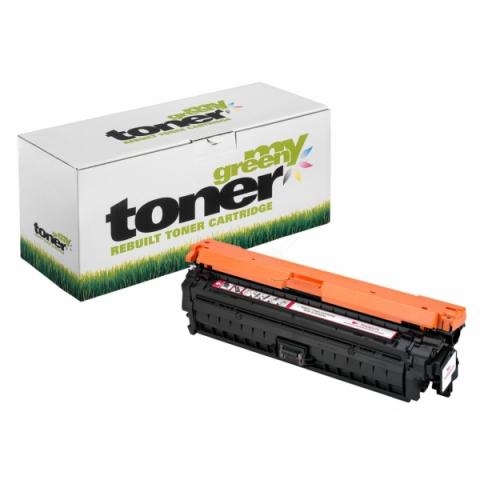 My Green Toner Toner, ersetzt CE743A f�r ca.