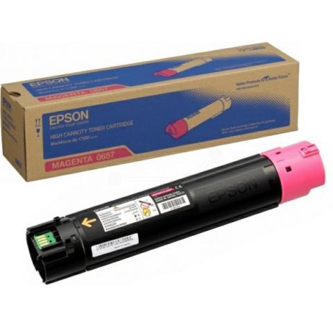 Epson C13SO50657 original HC- Toner mit einer