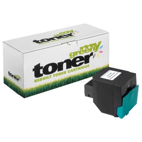 My Green Toner Toner für Lexmark, ersetzt
