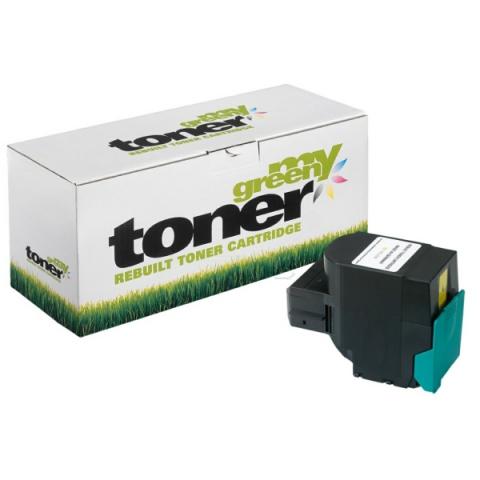 My Green Toner Toner f�r Lexmark ersetzt