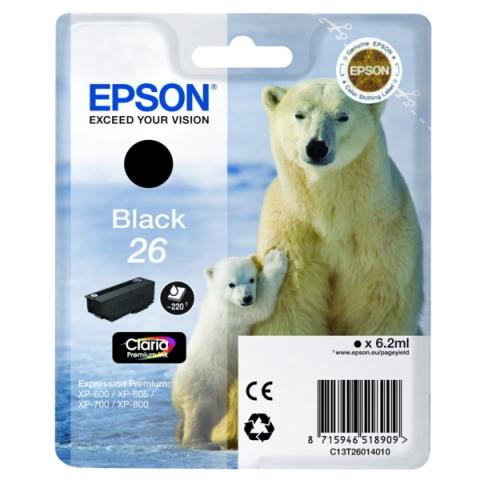 Epson C13T26014010 Druckerpatrone für XP 600 ,