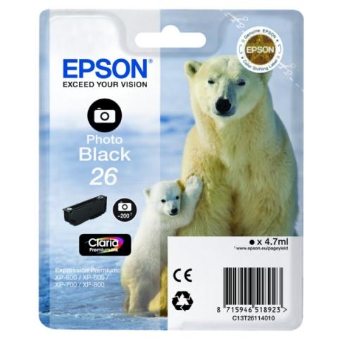 Epson C13T26114010 Druckerpatrone f�r XP 600 ,