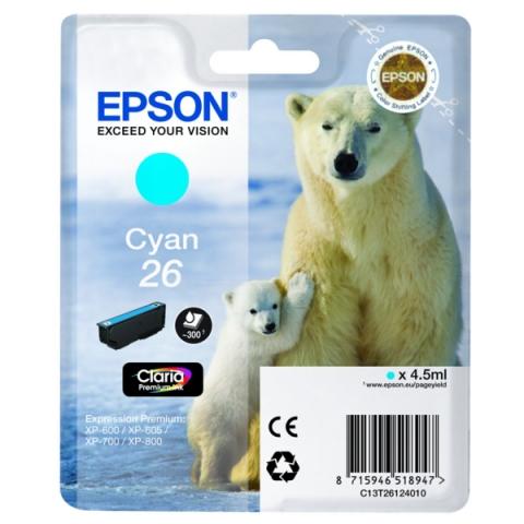 Epson C13T26124010 Druckerpatrone für XP 600 ,