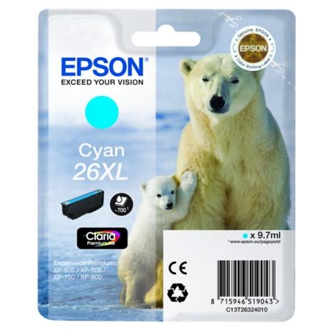 Epson C13T26324010 Druckerpatrone f�r XP 600 ,