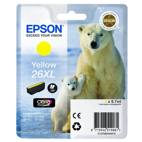 Epson C13T26344010 Druckerpatrone für XP 600 ,