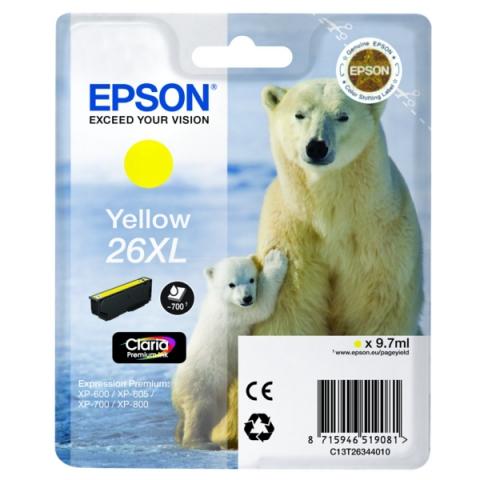 Epson C13T26344010 Druckerpatrone f�r XP 600 ,