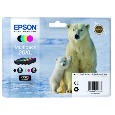 Epson C13T26364010 Originalprodukt Multipack