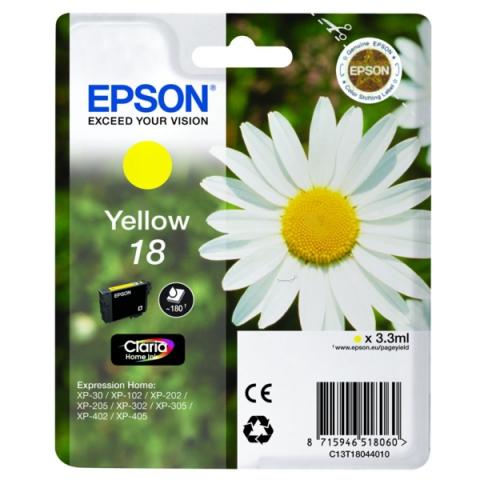 Epson C13T18044010 Druckerpatrone passend für