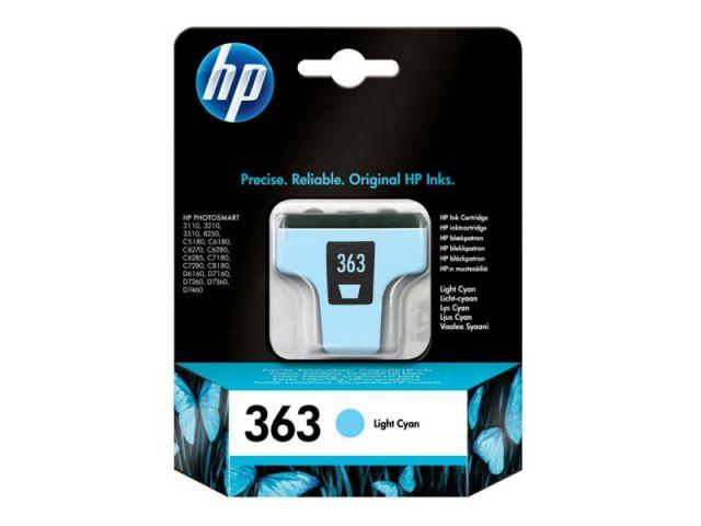 C8774EE Tintenpatrone HP 363 mit 5, 5 ml für HP Photosmart 8250 / 3100 / 3110 / 3210 / 3310,