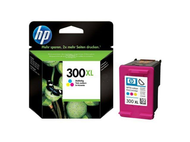 CC644EE HP 300 XL Druckerpatrone mit Druckkopf mit 11ml Kapazität, color