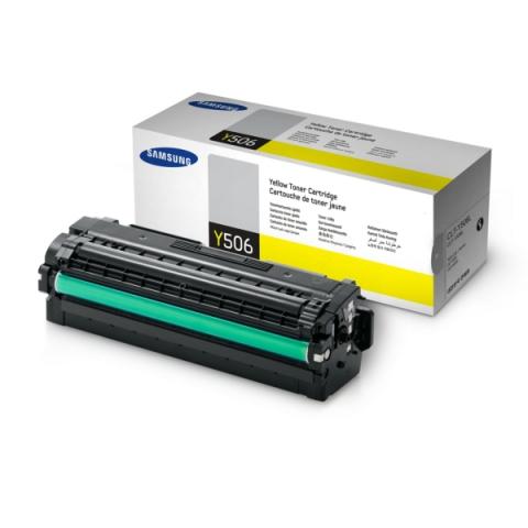 Samsung CLT-Y506S , ELS Toner, original mit