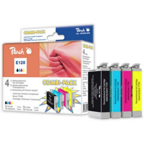Peach Multipack Tintenpatronen, Inhalt 1x7, 4ml