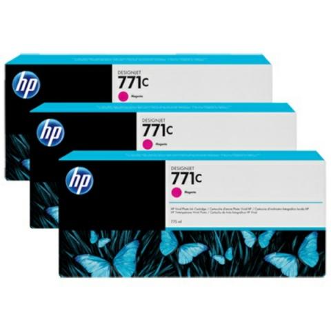 HP B6Y33A 3er-Pack original Tintenpatronen HP