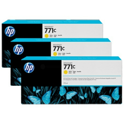 HP B6Y34A 3er-Pack original Tintenpatronen HP