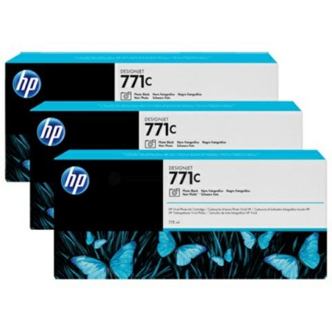 HP B6Y37A 3er-Pack original Tintenpatronen HP