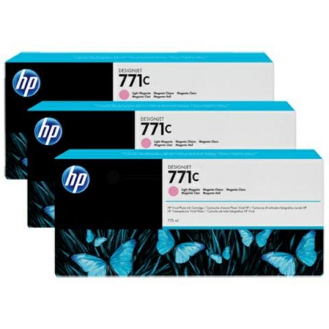 HP B6Y35A 3er-Pack original Tintenpatronen HP