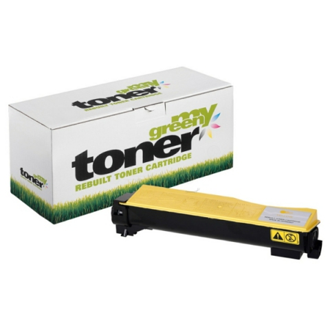 My Green Toner Toner, ersetzt Kyocera TK-540Y