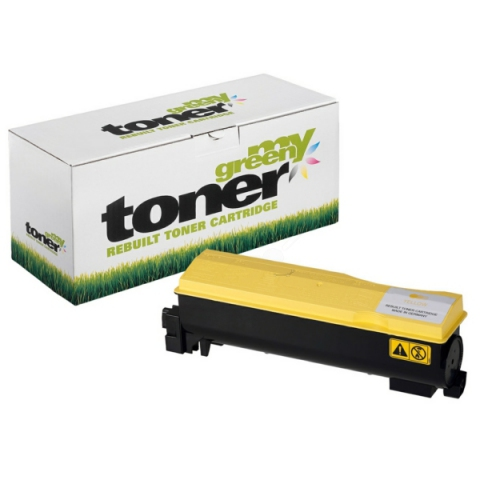 My Green Toner Toner, ersetzt Kyocera TK-560Y