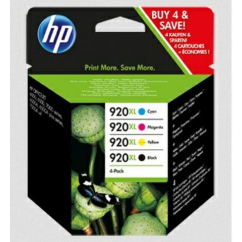 HP Multipack Druckerpatronen HP 1 x 920