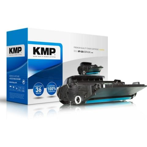KMP Toner, recycelt von für HP Laserjet,