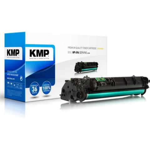 KMP Toner, rebuild mit für ca. 3.000 Seiten von