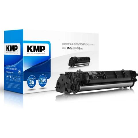 KMP Toner, rebuild mit 6.000 Seiten von für HP