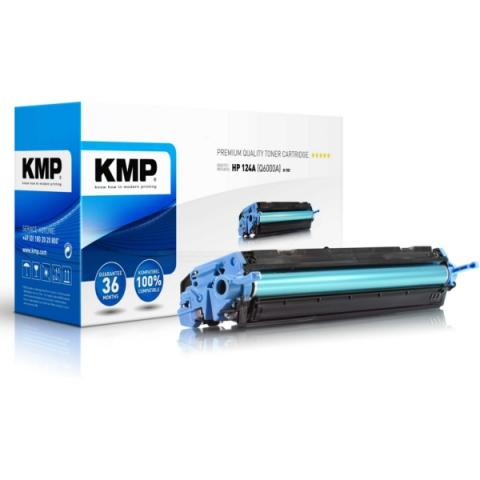 KMP Toner kompatibel zu Q6000A, rebuild Toner