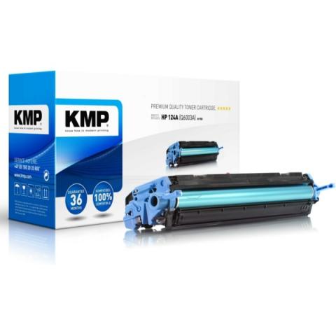 KMP Toner kompatibel zu Q6003A, rebuild Toner
