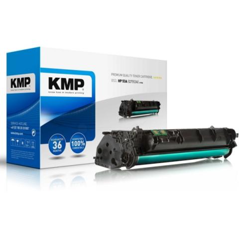KMP Toner kompatibel zu Q7553A für HP Laserjet