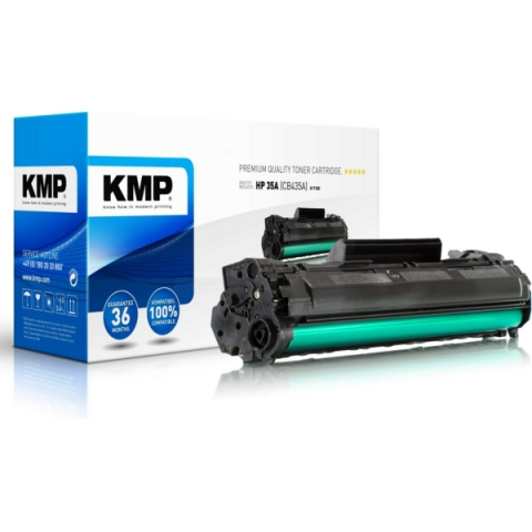 KMP Toner kompatibel mit CB435A für ca. 1.500